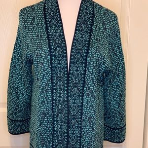 Gorgeous Ruby Rd fringed cardigan. New. Never worn